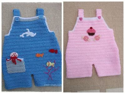 Sweet Baby Dungarees