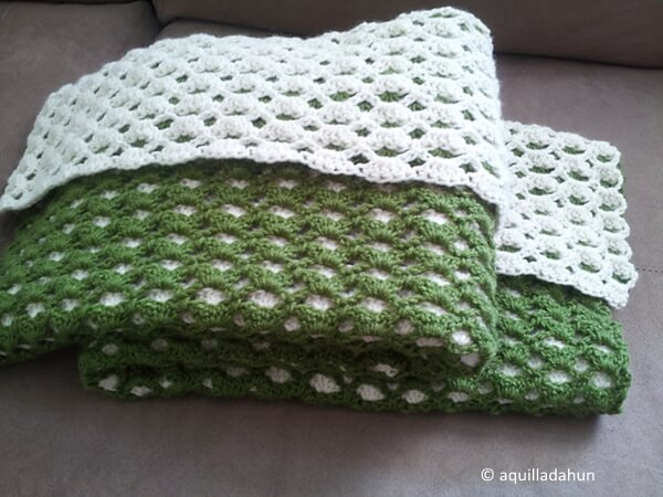 2 Sided Baby Afghan