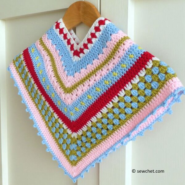 Greengate Style Baby & Toddler Girls Poncho