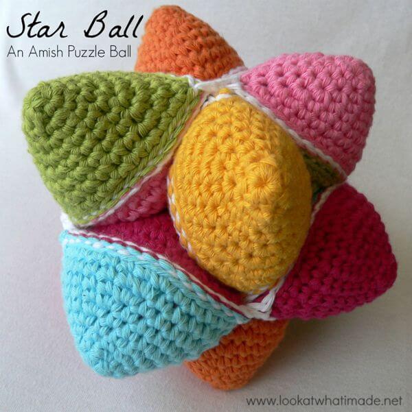 Crochet Star Ball