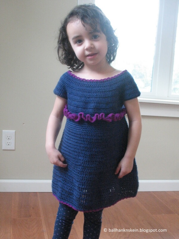 Easy Peasy Toddler Dress Pattern