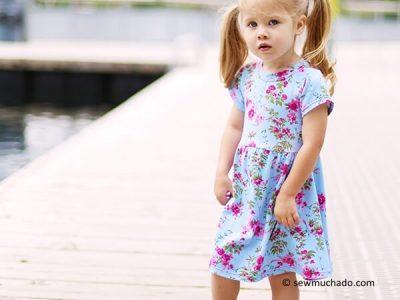 Suncadia Girl's Knit Dress