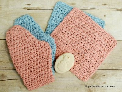 Baby Crochet Bath Set Patterns