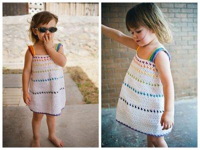 Toddler Crochet Dress Pattern