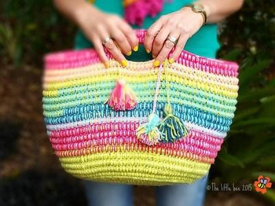 Ropey Rainbow Basket