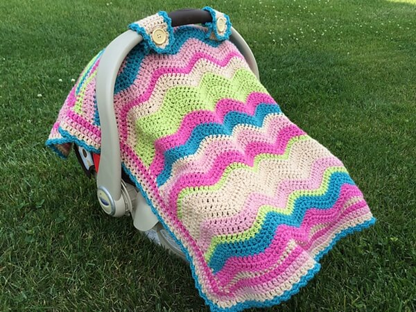Emerson Car Seat Cover or Blanket