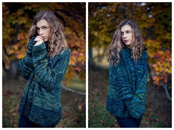 Mystery Green Sweater