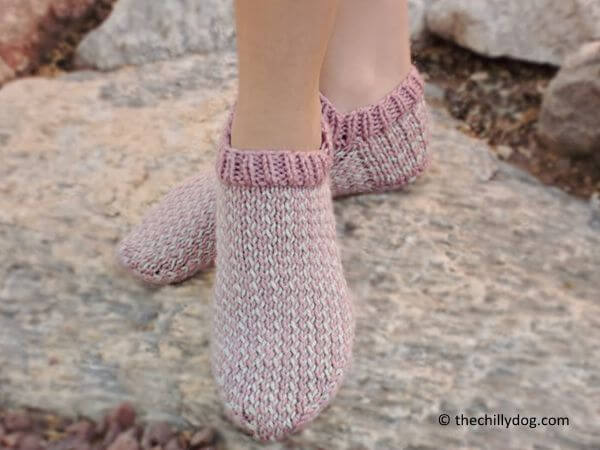 The Anatomy of a Hand Knit Sock