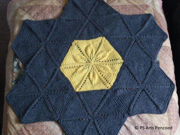 Flower Hexagon Blanket