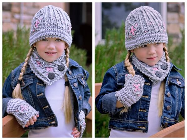 Graystone Kids Crochet Cable Set