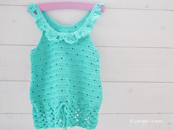 CROCHET A GIRLS TOP