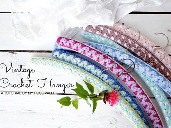 Vintage Crochet Hanger Tutorial