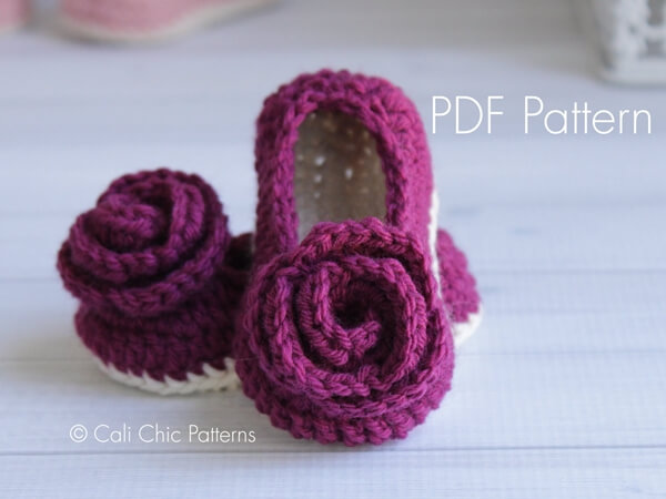 Charlotte Baby Shoes pattern