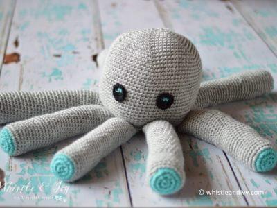 Plush Crochet Octopus Amigurumi