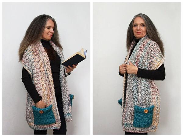 Hadley Reader's Wrap Pattern