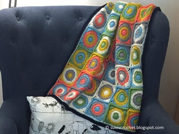 Retro Baby Dots Blanket