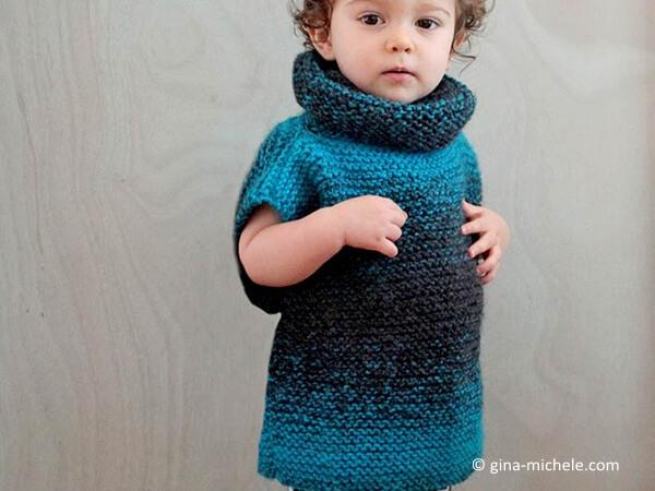 3 Square Child's Sweater