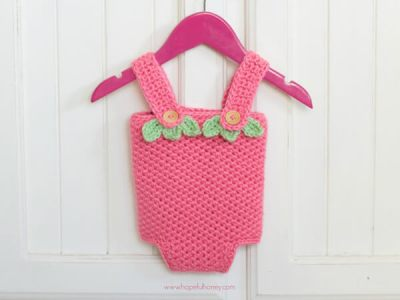 Strawberry Shortcake Baby Playsuit