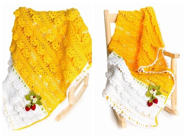 Strawberry Delight Blanket