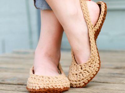 slingback slippers