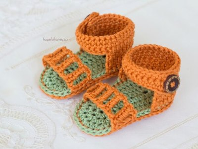 Honeysuckle Baby Sandals