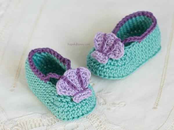 Mermaid Baby Sandals