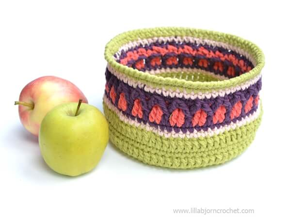 Fall Apple Basket