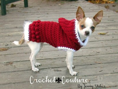 Hooded Dog Sweater