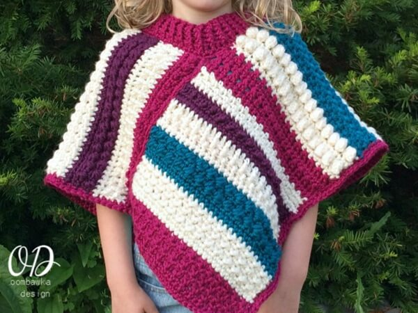 EASY CROCHET PONCHO PATTERNS