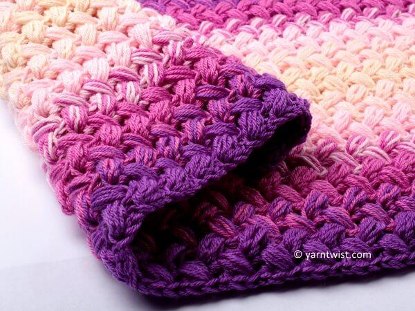 Crochet Zig Zag Blanket Pattern