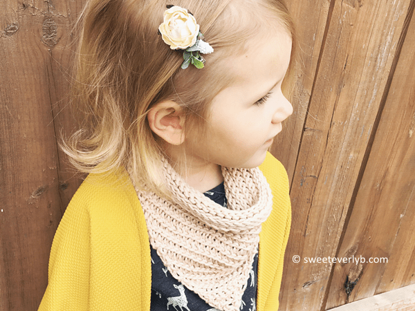 The Toddler Cowl
