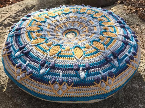 Peacock Tail Mandala