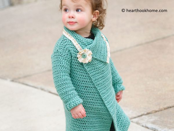 Child Size Blanket Cardigan
