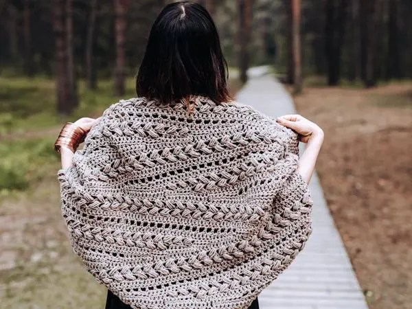 crochet Inmost Cardigan easy pattern