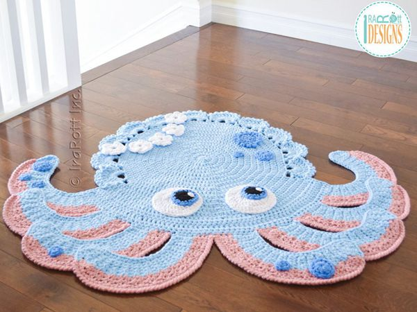 Octopus Animal Rug