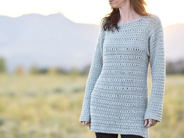 Lakeside Crocheted Sweater