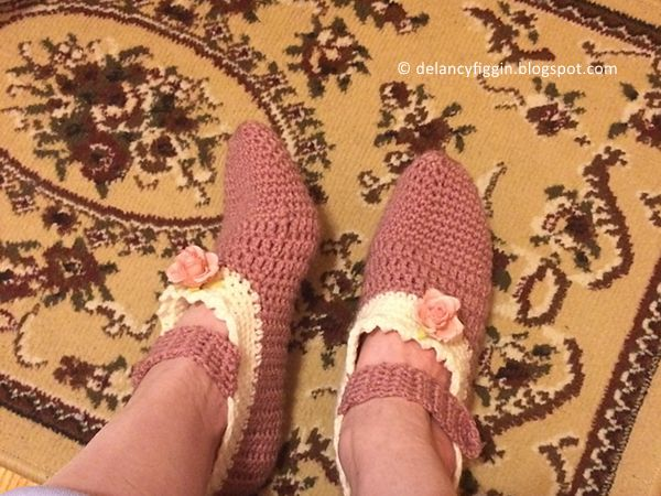 Rococo Slippers