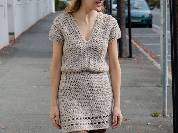 The Never Cold Mini Dress