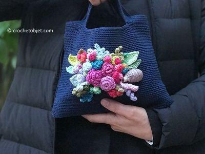 Joyful Bouquet Purse