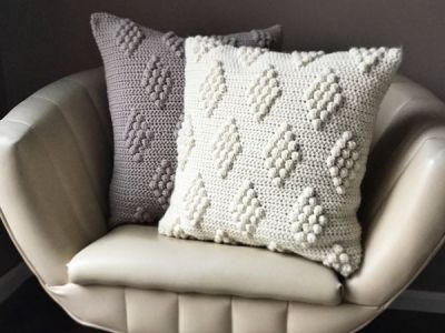 Diamonds in the Puff Pillow