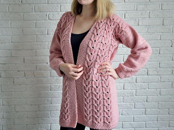 Crochet Womens Oversized Sweater