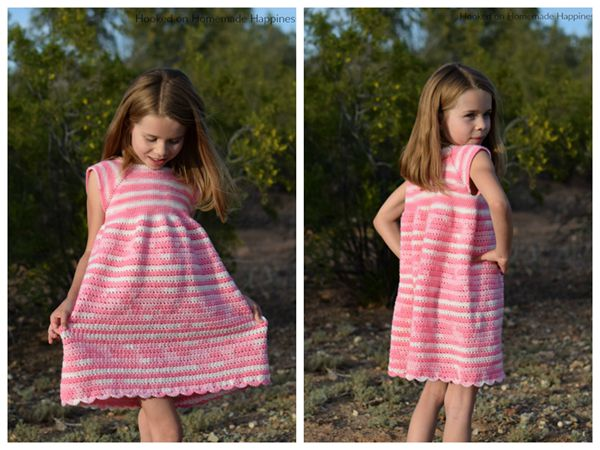 Carson Crochet Dress Pattern free pattern