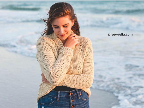 Crochet Seaside Cardigan