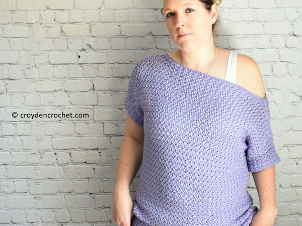 The Crochet Freesia Top