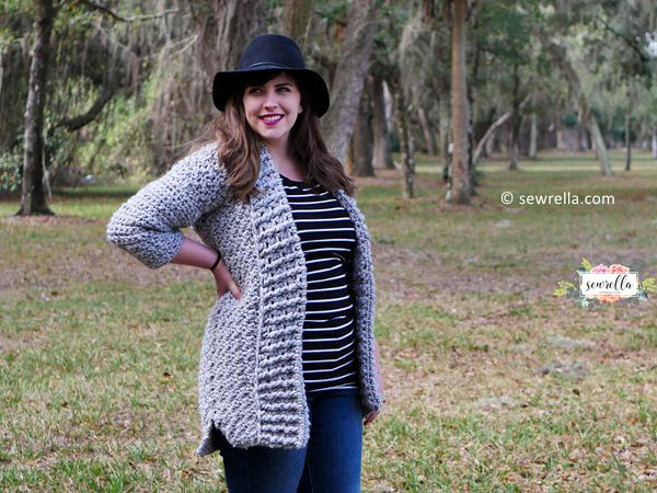crochet First Love Cardigan free pattern