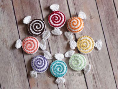 crochet Valentine Candies free pattern