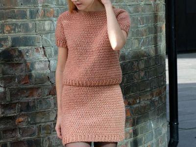 The Crochet co-ord Skirt PATTERN