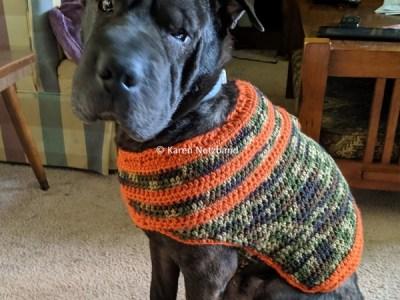 crochet Bruno's Sweater Coat free pattern