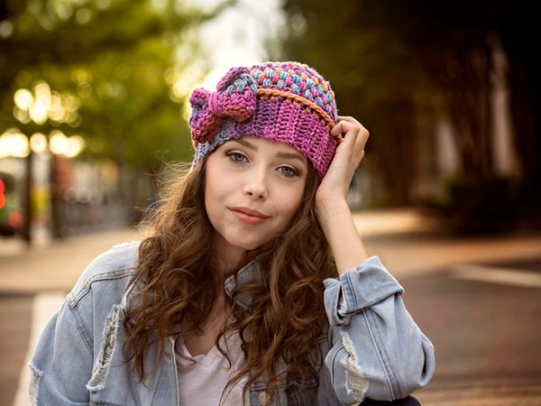 crochet Spirit Hat easy pattern