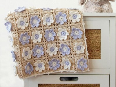crochet Guess How Much I Love You Blanket easy pattern